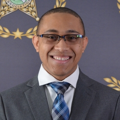 Cooperative Purchasing Program Assistant D'Angelo Zarley Headshot