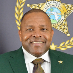 Photo of Clay County Sheriff Darryl Daniels