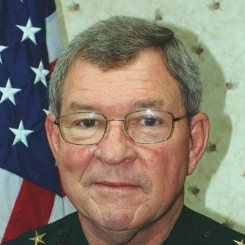 Photo of Hamilton County Sheriff J. Harrell Reid