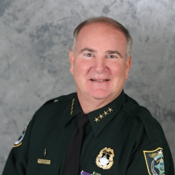 Photo of Flagler County Sheriff Rick Staly