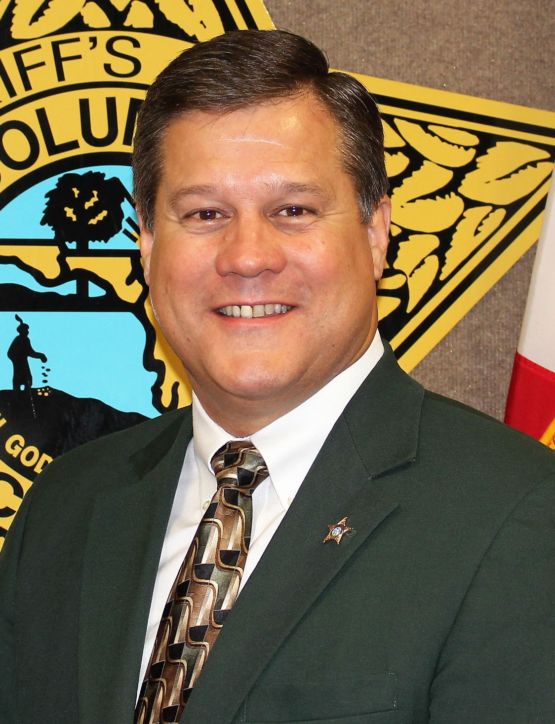 Photo of Columbia County Sheriff Mark A. Hunter