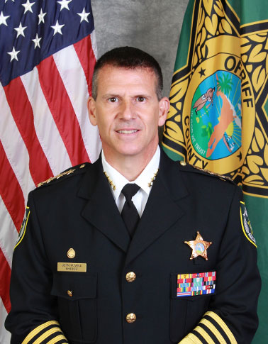 Photo of Orange County Sheriff John W. Mina