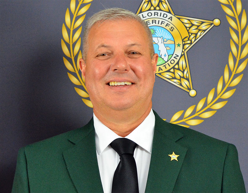 Photo of Suwannee County Sheriff Sam St. John
