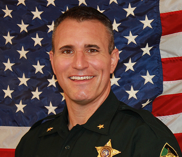 Photo of Pasco County Sheriff Chris Nocco